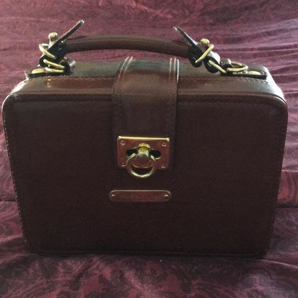 POLO By RALPH LAUREN🌷 RARE Vintage BOX Satchel. M 5a4fcbacf9e501bb000012f4 99769ddae49d7